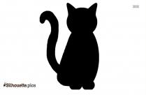 Halloween Kittens Clipart Silhouette