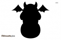 Free Halloween Text Silhouette