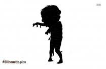 Halloween Mummy Silhouette