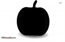 Cartoon Pumpkin Silhouette