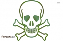 Pirate Skull Png ClipArt Silhouette