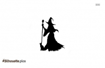 Halloween Witch Silhouette Clipart