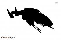 Crane Toy Silhouette Free Vector Art