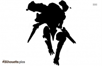 Cartoon Ant-man Character Silhouette