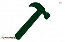 Craftsman Hammer Silhouette Image