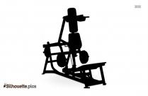 Hammer Strength Equipment Silhouette Illustration