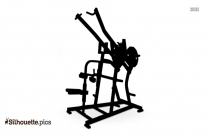 Gymnastics Bars Silhouette Art