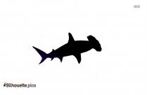Whale Fin Silhouette