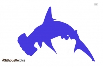 Great White Shark Clipart Image Silhouette