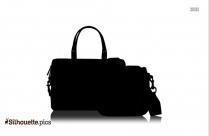 Handbag Silhouette Vector Image