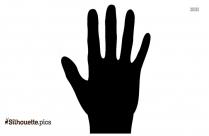 Hand Limb Silhouette Icon