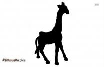 Giraffe Carousel Ornament Silhouette