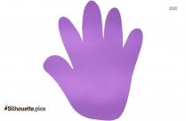 Right Hand Clip Art Silhouette