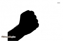 Hand Palm Silhouette Image And Vector