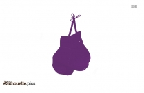 Hand Gloves Silhouette Picture, Clipart