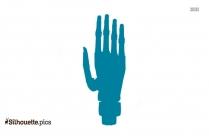 Right Arm Symbol Silhouette