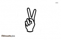 Thumbs Down Icon Silhouette
