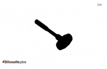 Ball Pin Hammer Silhouette