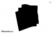 Handkerchief Silhouette Vector