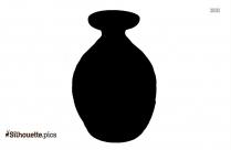 Santa Clara Tribal Pottery Silhouette Vector