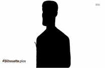 Handsome Guy Silhouette Free Vector Art