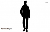 Handsome Man Silhouette