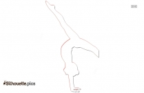 Yoga Pose Silhouette Free Vector Art Picture
