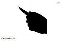 Free Knife Vector Silhouette