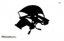 Badminton Sketch Silhouette