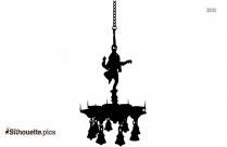 ganesha spiritual silhouette image