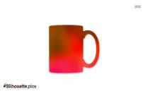 Coffee Mugs Vector Silhouette