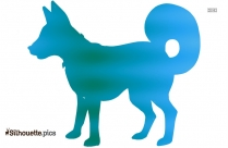 Cartoon Dog Silhouette Free Download