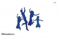 Freestyle Jump Silhouette Clip Art