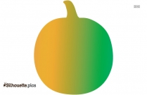 Pumpkin Vector Silhouette Free Vector Art