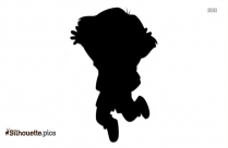 Bull Jumping Silhouette Clip Art