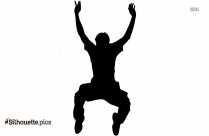 Dancer Jumping Silhouette