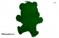 Bear Standing Clipart Silhouette