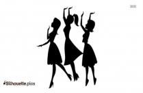 Powerpuff Girls Vector Image Silhouette