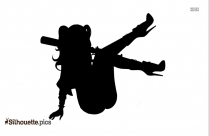 Harley Quinn Silhouette Black And White