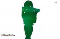 Harley Quinn Cartoon Silhouette
