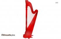 String Instrument Harp Silhouette