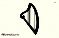 Harp Silhouette