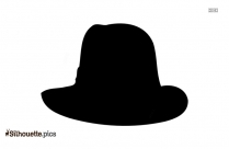 Black Beret Drawing Silhouette Image