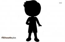 Hawaiian Boy Silhouette Icon