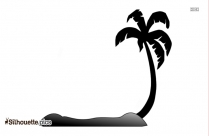 Hawaiian Coconut Tree Silhouette