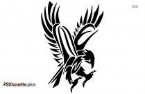 Tribal Seahorse Tattoo Silhouette