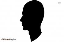 Head Profile Silhouette Illustration