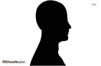 Person Head Vector Silhouette