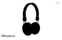 DJ Clipart Free Music Headphone Vector Silhouette