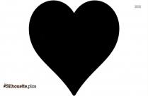 Hearts Border Frame Clip Art Silhouette